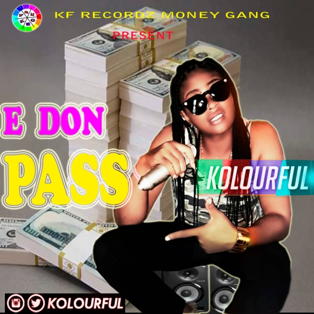 KOLOURFUL -E DON PASS COVER PHOTO